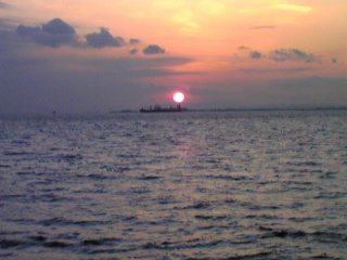 夕日が綺麗♪
