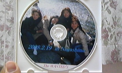 The WANTED'S  DVD完成